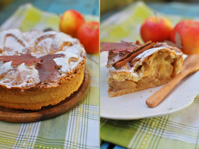 Польский яблочный пирог рецепт пошагово в духовке