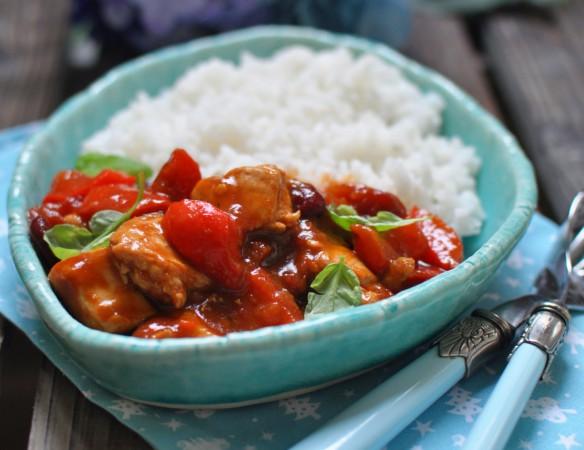 Рис приготовленный в духовке